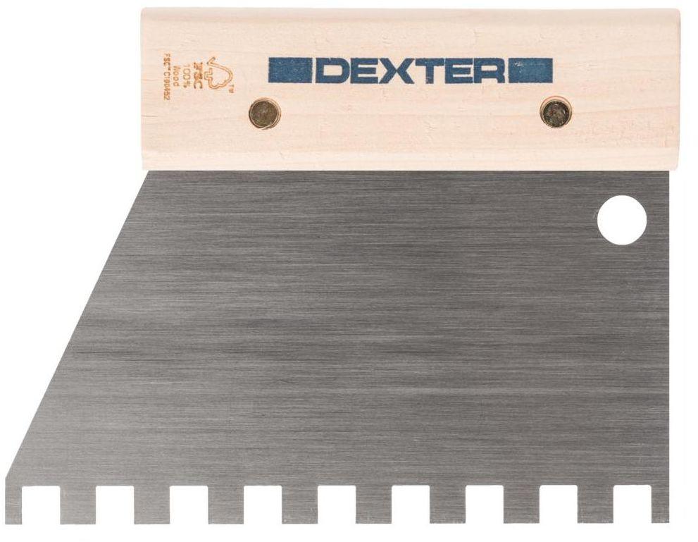Grzebień do kleju 18 cm / 10 mm DEXTER
