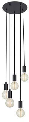 Lampa wisząca Sky 107467 Markslojd nowoczesna oprawa w kolorze czarnym