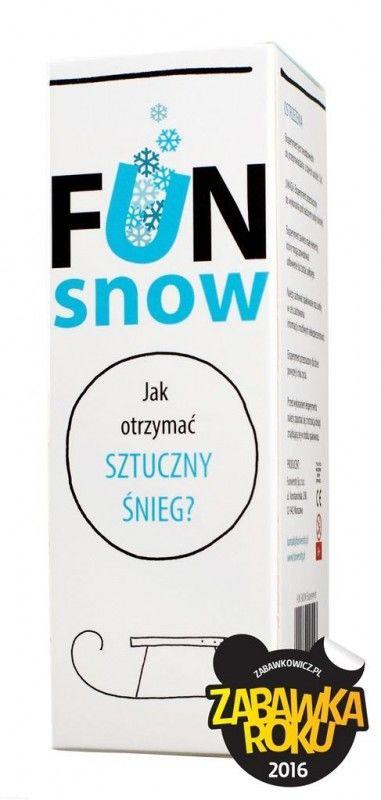 Mini eksperyment - FUN snow ZAKŁADKA DO KSIĄŻEK GRATIS DO KAŻDEGO ZAMÓWIENIA