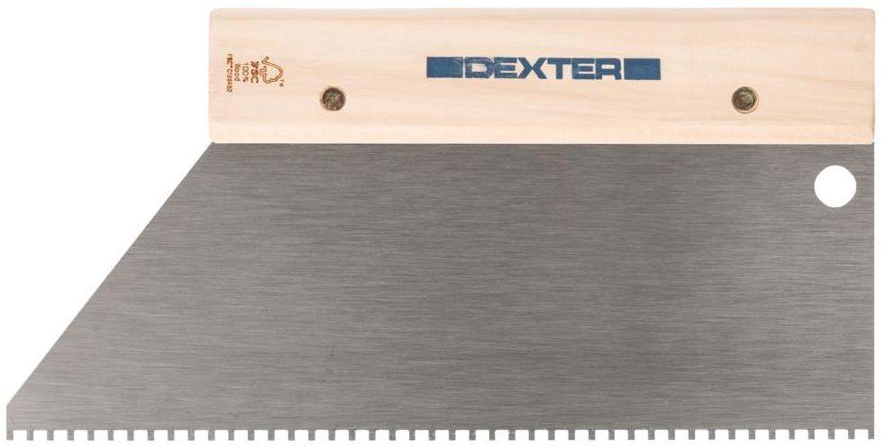 Grzebień do kleju 28 cm / 4 mm DEXTER