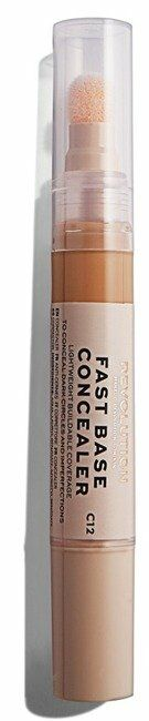 Makeup Revolution Fast Base Concealer Korektor pod oczy C12 4,5ml - C12
