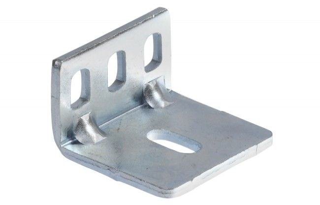 Kątownik montażowy do szyna jezdnej standard, do systemu Hafele Slido Classic (montaż co 40 cm)