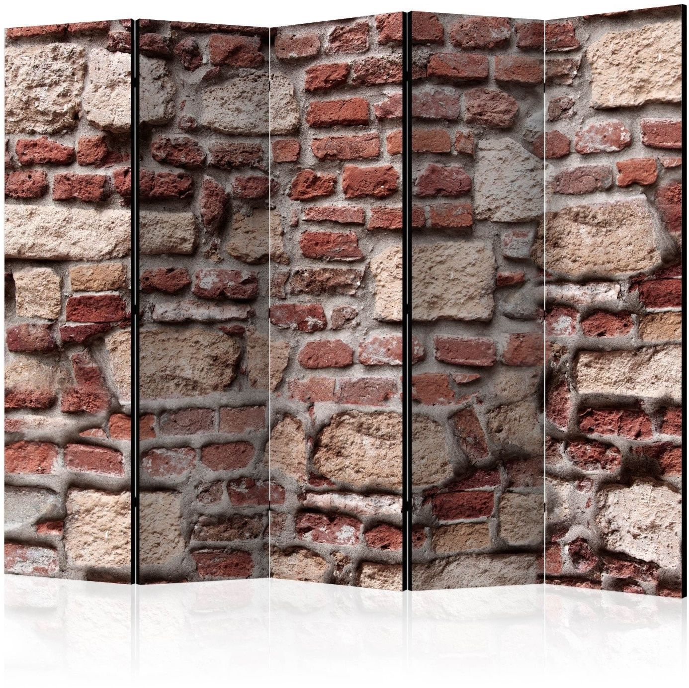 Parawan 5-częściowy - vintage wall ii [room dividers]