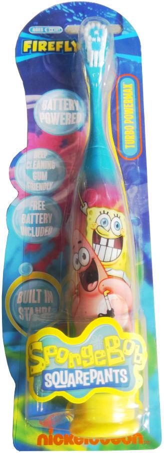 Dr. Fresh BOB GĄBKA Toothbrush Battery - bateryjna szczoteczka dla dzieci od 6-go roku życia