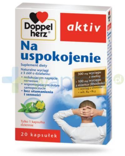 DoppelHerz Aktiv Na uspokojenie 20 kapsułek