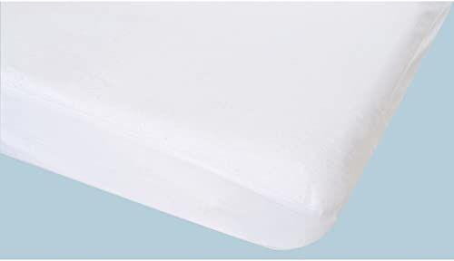 Jeanne Poyet Motte Lerche ochraniacz na materac bawełna biały 190 x 140 cm
