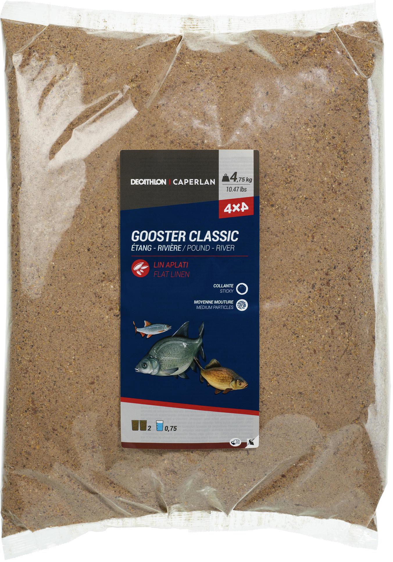 Zanęta Gooster Classic 4x4 4,75 kg