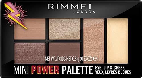 Rimmel Mini Power Palette Eye Shadow wielofunkcyjna paletka nr 001 - Fearless