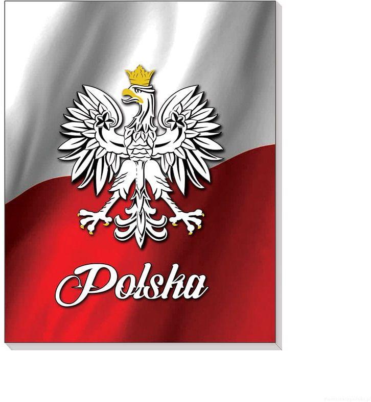 Notes 3D na magnesie Polska Polska flaga