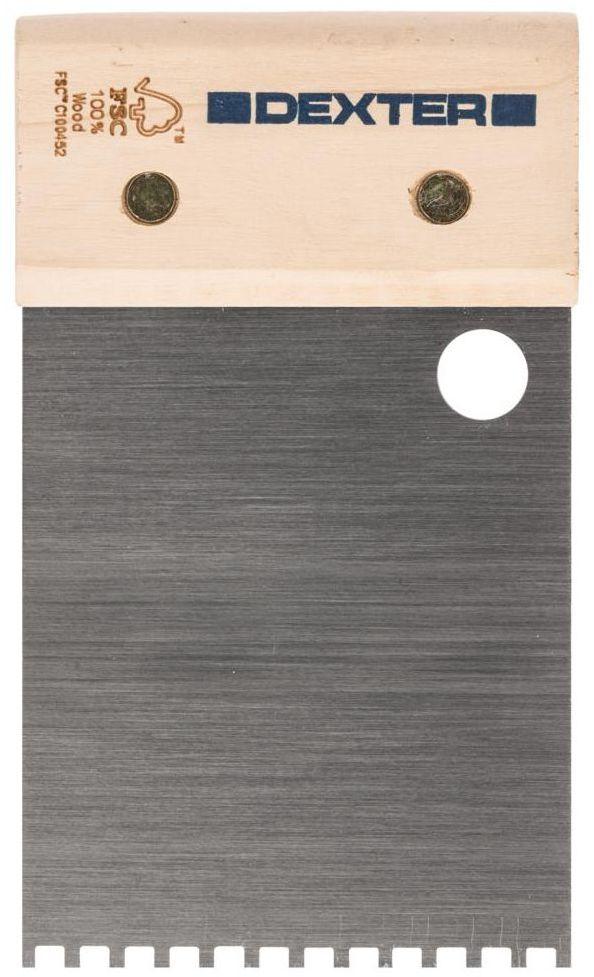 Grzebień do kleju 8 cm / 4 mm DEXTER