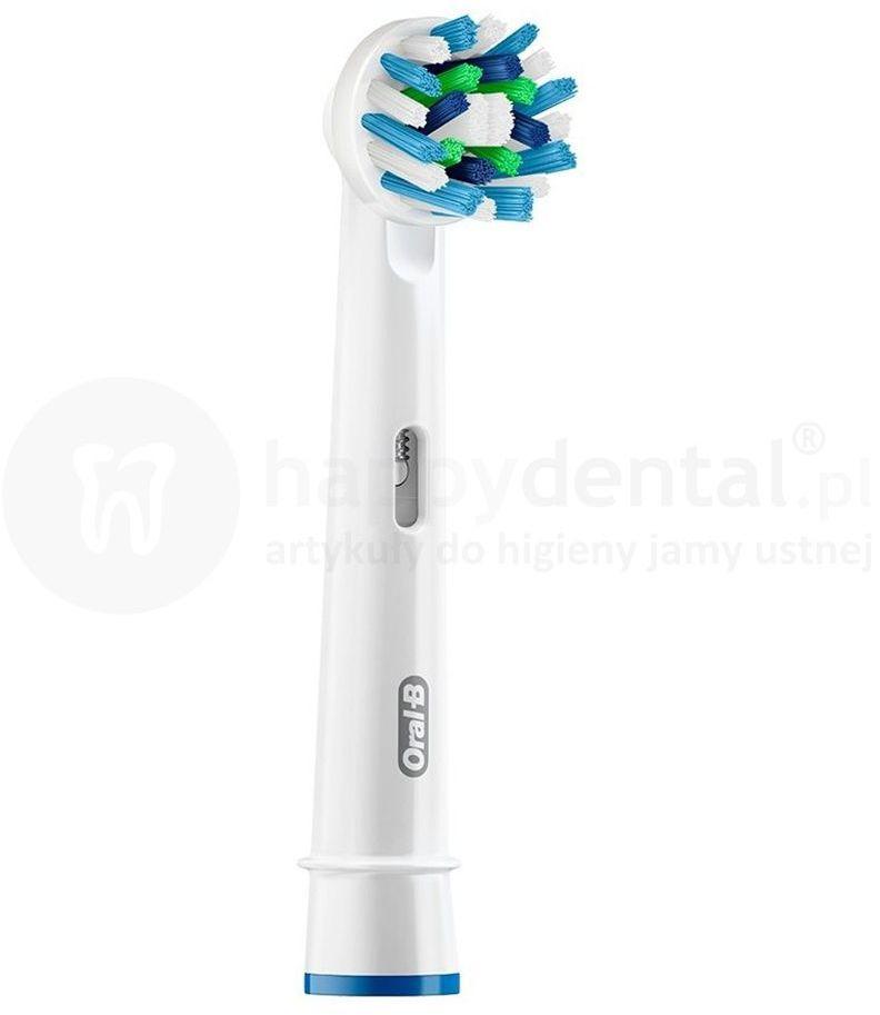 BRAUN Oral-B CrossAction 1szt. EB50-1 - końcówka do szczoteczki elektrycznej o kątowym ułożeniem włosia