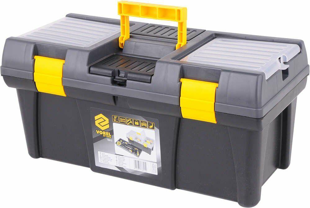 Skrzynka narzędziowa plastikowa pr-20'' Vorel 78813 - ZYSKAJ RABAT 30 ZŁ