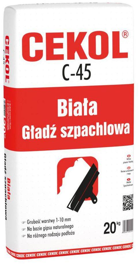 Zaprawa szpachlowa C-45 20 kg CEKOL