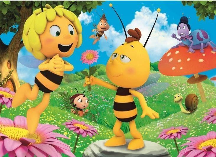 Puzzle 60 Elementów Pszczółka Maja Kwiatek od Gucia TREFL