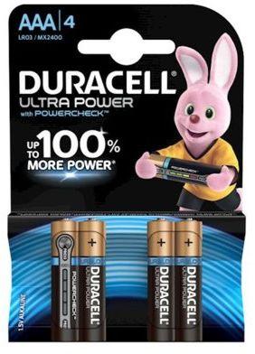 Baterie DURACELL Ultra Power AAA 4szt.. > DARMOWA DOSTAWA ODBIÓR W 29 MIN DOGODNE RATY