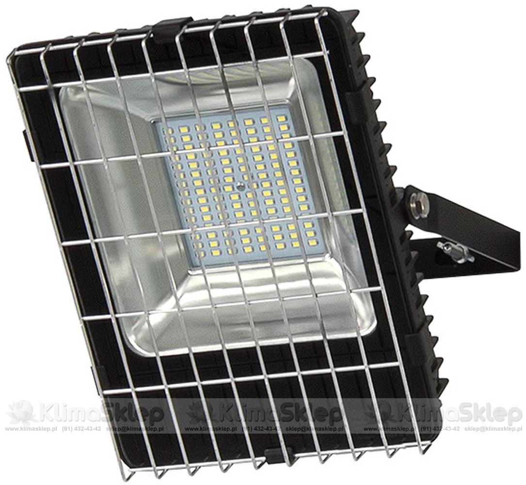 Naświetlacz z kratką ochronną LED SMD Partnersite LLS100R - oświetlenie warsztatowe
