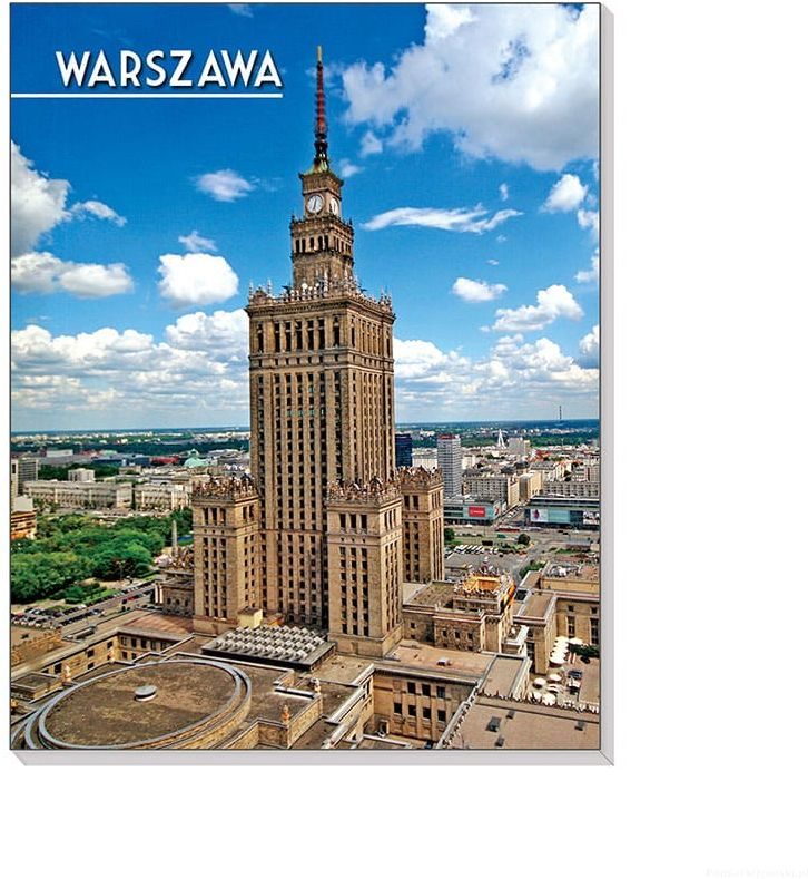 Notes 3D na magnesie Warszawa Pałac Kultury
