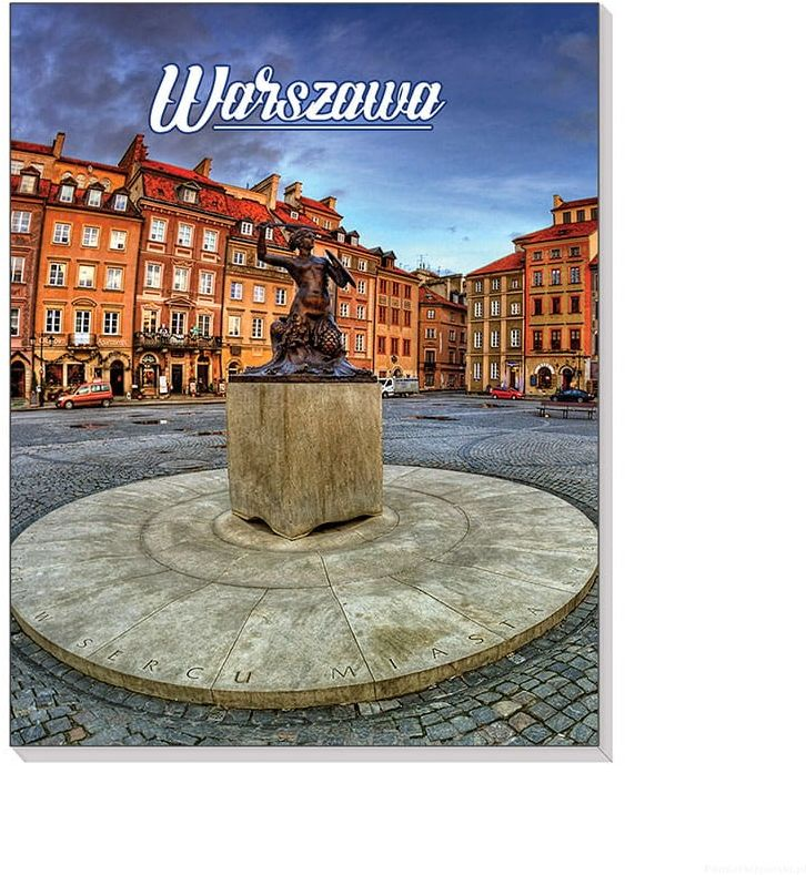 Notes 3D na magnesie Warszawa Syrenka