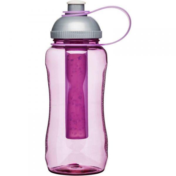 Sagaform FRESH Butelka z Wkładem Chłodzącym - Bidon Różowy