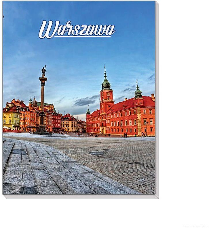 Notes 3D na magnesie Warszawa Plac Zamkowy