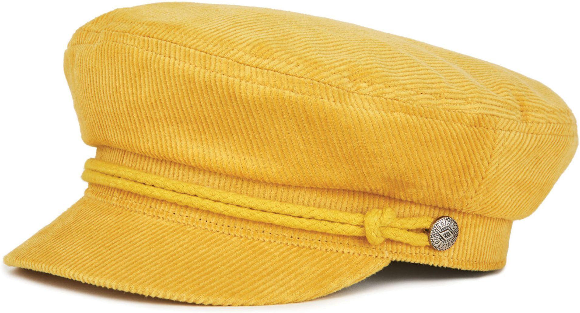 kaszkiet BRIXTON ASHLAND CAP Mustard/Mustard