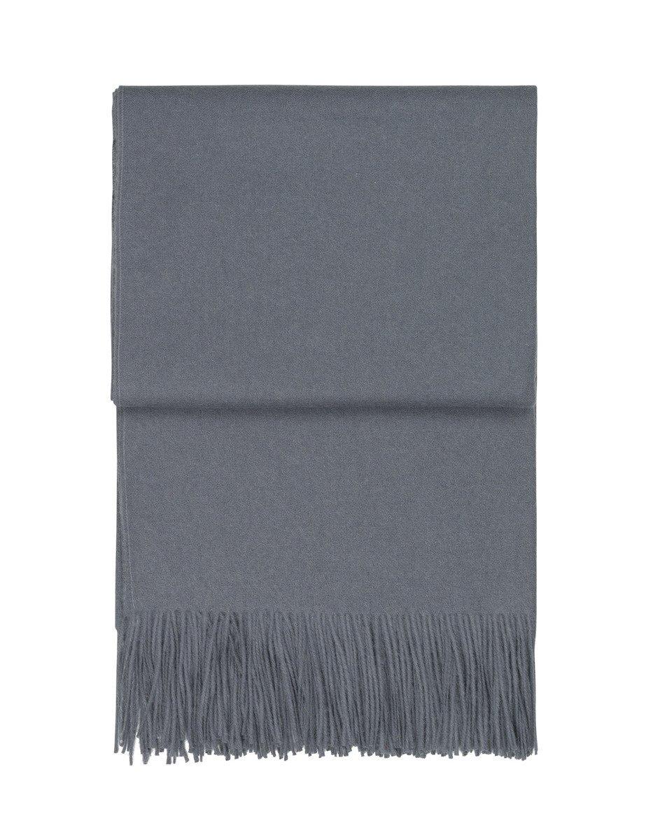 Pled wełniany Elvang Classic Grey Blue - Pled