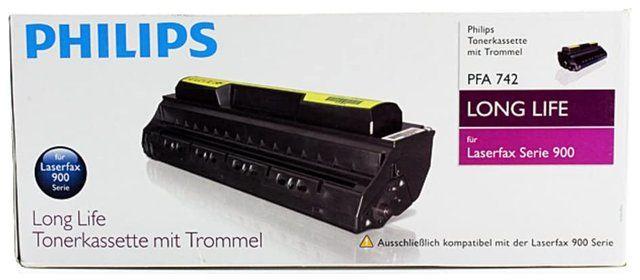 Wyprzedaż Toner faxu Philips PFA 742 do Philips Laserfax 920 940 4 800 str. czarny black, opakowanie zastępcze