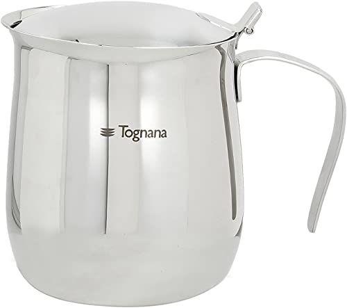 Tognana Riflex dzbanek do kawy A serwowanie 6 filiżanek, stal nierdzewna, srebrny