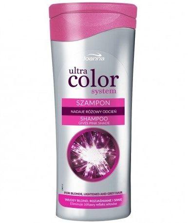 Joanna Szampon różowy do włosów 200 ml