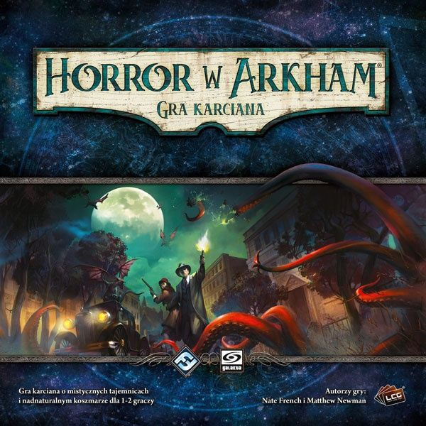 Horror w Arkham: Gra karciana - Zestaw Podstawowy ZAKŁADKA DO KSIĄŻEK GRATIS DO KAŻDEGO ZAMÓWIENIA