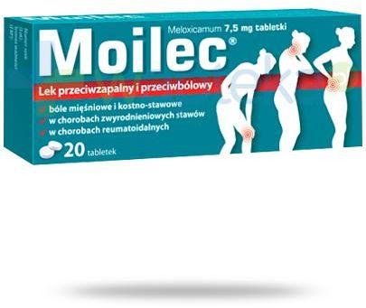 Moilec 7,5mg 20 tabletek