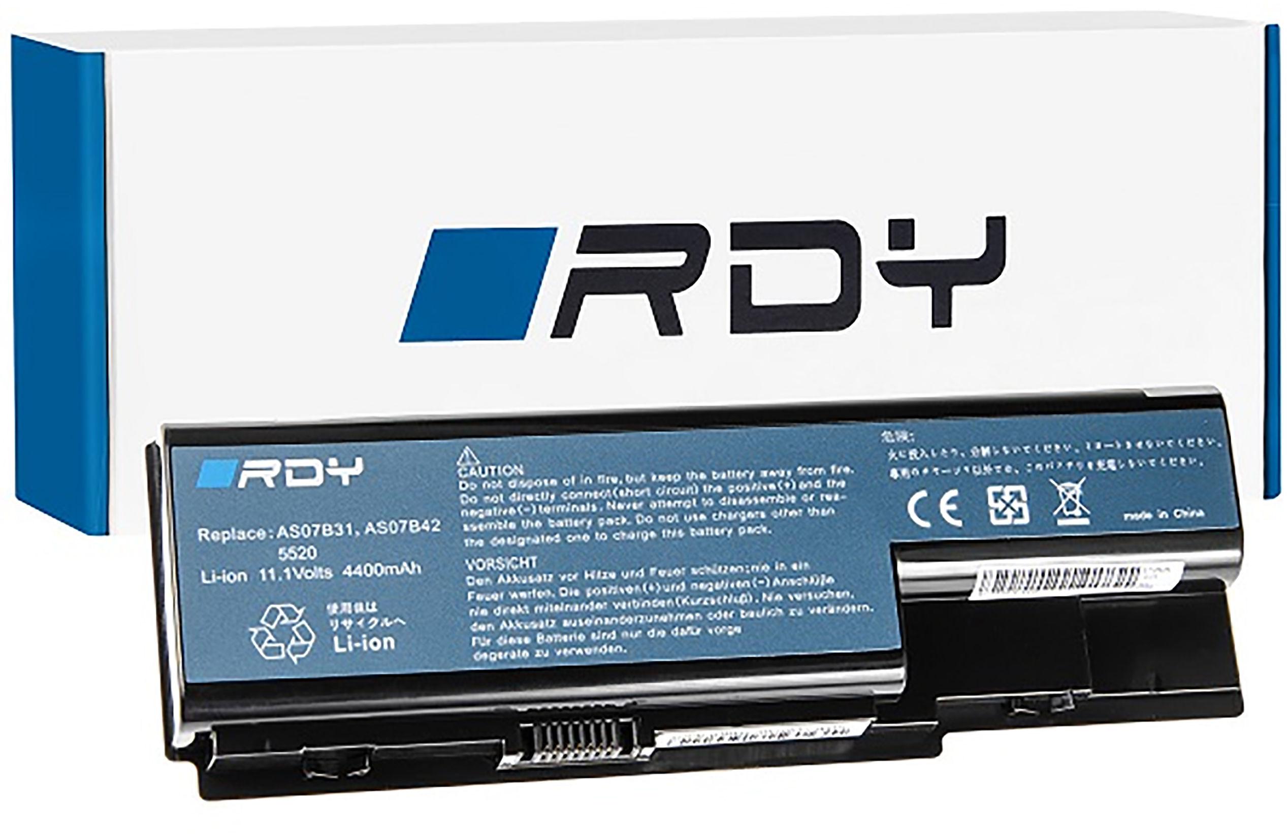 Bateria RDY AS07B31 AS07B41 AS07B51 do Acer Aspire 5220 5520 5720 7720 7520 5315 5739 6930 5739G