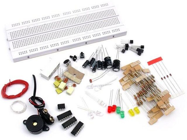 Praktyczny kurs elektroniki- zestaw do samodzielnego montażu