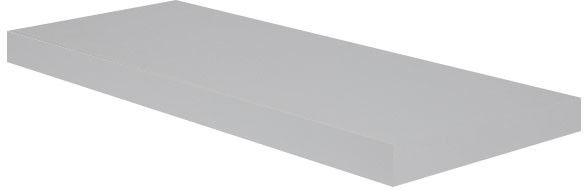 Półka dekoracyjna Form Cusko 38 x 235 x 600 mm szara