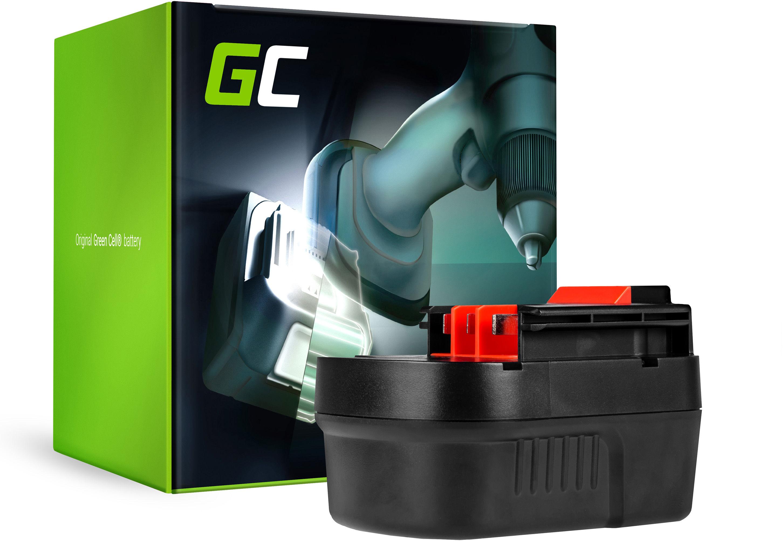 Bateria Green Cell (2Ah 12V) A12 A1712 A12EX HPB12 do Black&Decker EPC12CA EPC12 H1 EPC12CABK HP122 HP126F2K EPC126 KC2000F