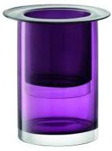 LSA International G1531-23-160 wazon gniazdowy/latarnia/donica na rośliny, szkło