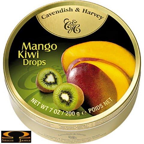 Landrynki Cavendish & Harvey mango i kiwi 200g