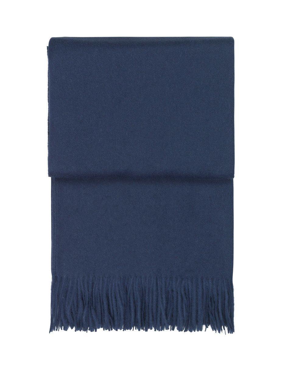 Pled wełniany Elvang Classic Dark Blue - Pled