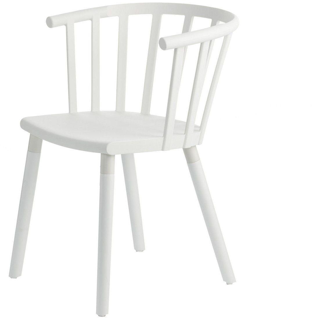 Krzesło Madlen White, 54  43  76 cm