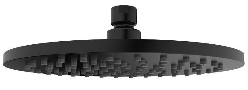 Omnires Slimline deszczownica mosiężna ø 20cm czarna WG120BL