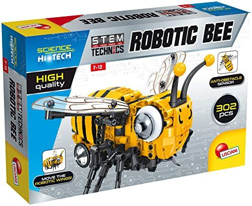 Lisciani EX77328 Science HI TECH STEM Technics Robotics BeE