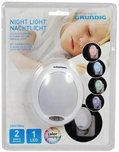 Lampka nocna do kontaktu grundig czujnik led wtykowa