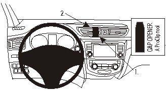 ProClip do Nissan Qashqai 14-17