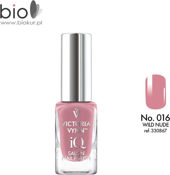 Lakier klasyczny Nail Polish iQ 016 WILD NUDE Victoria Vynn - 9 ml