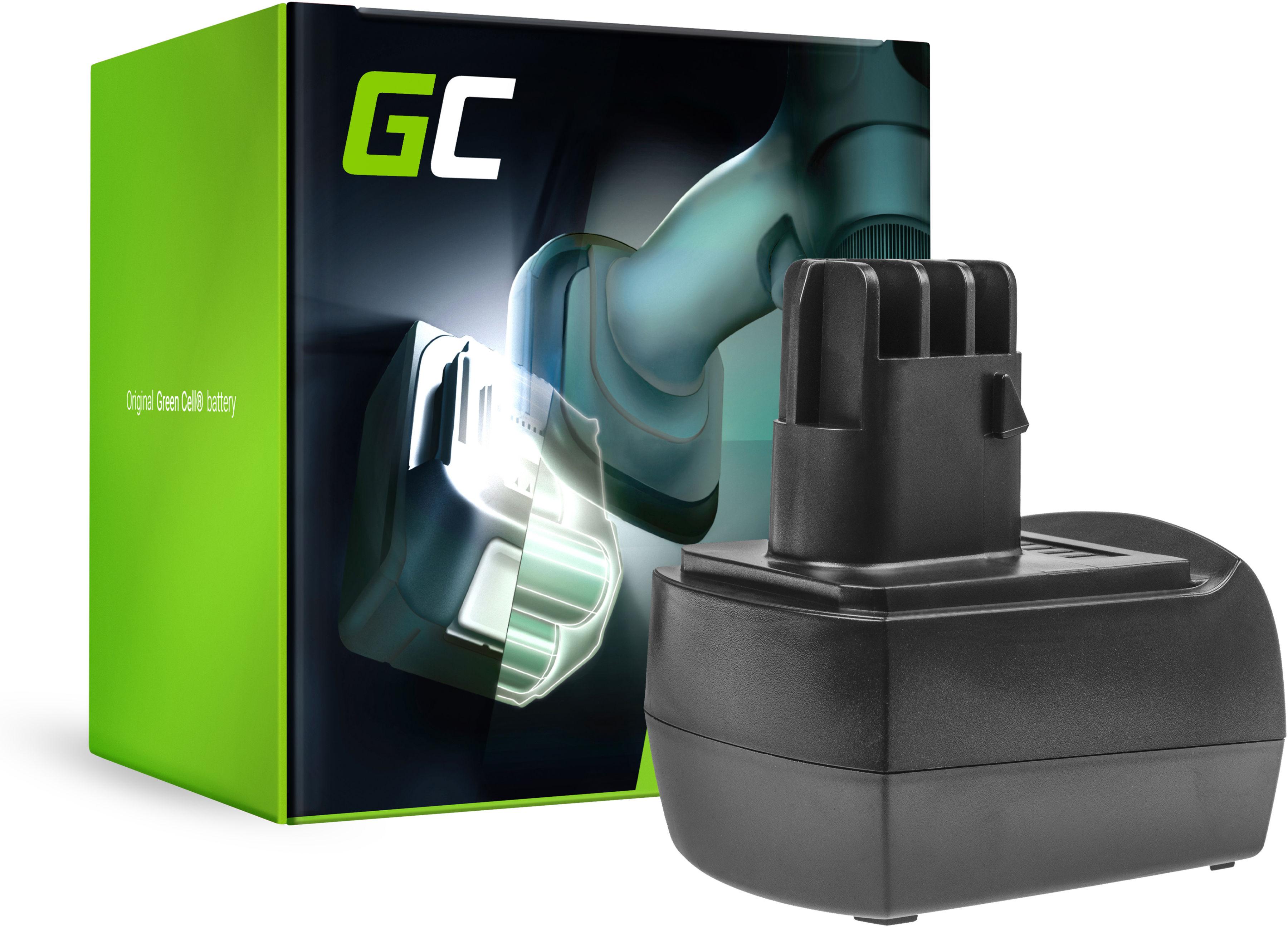 Bateria Green Cell (3Ah 12V) 6.25474 6.25486 6.25473 do Metabo BSZ 12, BSZ 12 Impuls, BSZ 12 Premium, BZ 12 SP, SSP 12