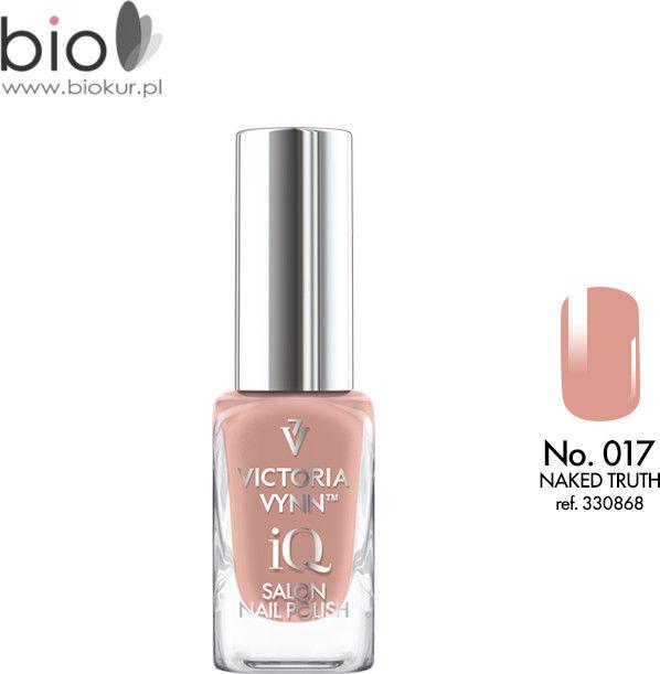 Lakier klasyczny Nail Polish iQ 017 NAKED TRUTH Victoria Vynn - 9 ml