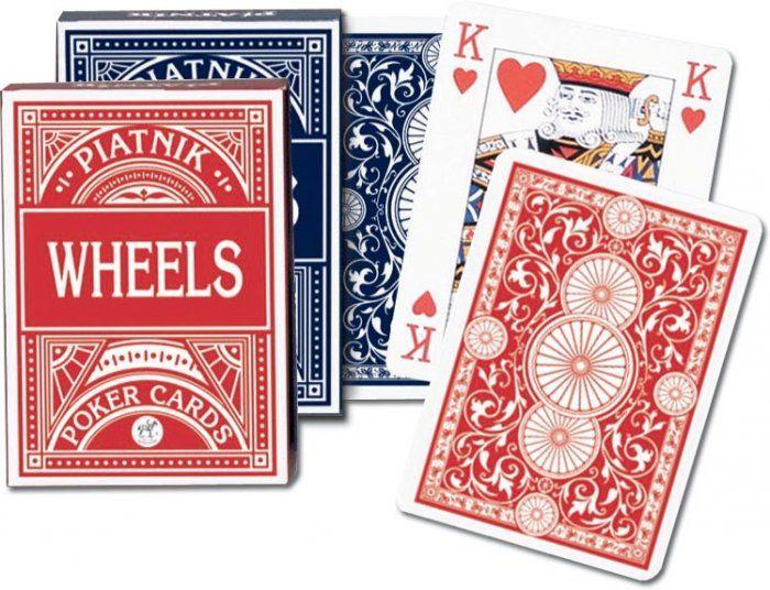 """Karty """"Wheels"""" Pokerowe Piatnik"""