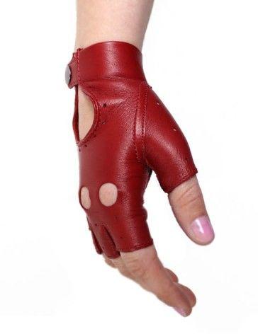 Rękawiczki bez palców, samochodowe, rowerowe - całuski