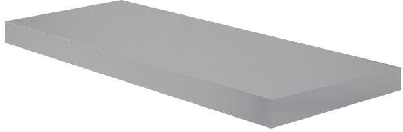 Półka dekoracyjna Form Cusko 38 x 235 x 1180 mm szara