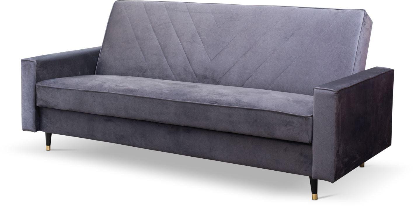 Sofa rozkładana Puerto Plus w stylu skandynawskim
